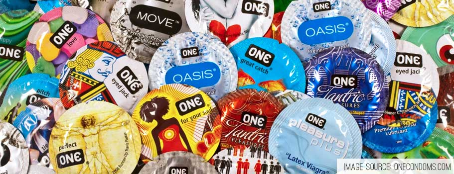 One Condoms - 56 Condom Sizes