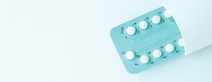 Can contraceptive pills stop periods?
