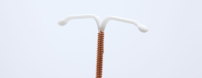 How does the IUD affect hormones?